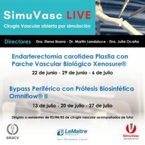 SIMUVASC LIVE: Cirugía Vascular abierta por simulación