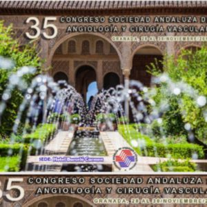 35º Congreso de la Sociedad Andaluza de Angiología y Cirugía Vascular (SACVA), Granada del 28 al 30 de noviembre 2019