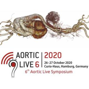 6th Aortic Live Symposium en Alemania. Octubre de 2020