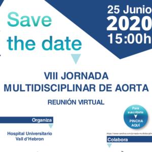 VIII Jornada Multidisciplinar de Aorta. Reunión virtual.