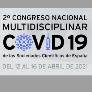 Abierto el plazo de envío de comunicaciones para el 2º Congreso Nacional Multidisciplinar Covid 19