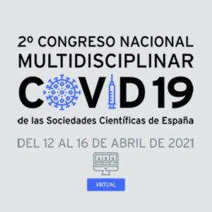La SEACV va a estar presente en el 2º Congreso Nacional Multidisciplinar Covid-19 de las Sociedades Científicas de España