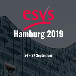 33 Congreso de la Sociedad Europea de Cirugía Vascular (ESVS), a celebrar en Hamburgo del 24 al 27 de septiembre