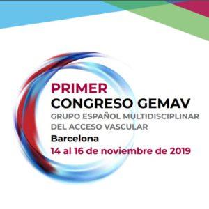 Primer congreso GEMAV. Barcelona del 14 al 16 de noviembre de 2019.