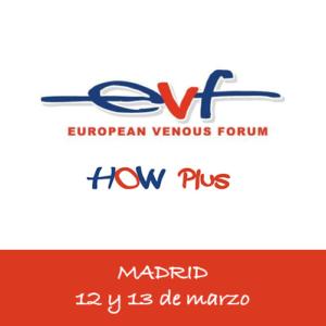 Curso EVF HOW PLUS de escleroterapia y venas pélvicas (12 y 13 de marzo)