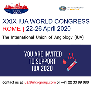 XXIX IUA WORLD CONGRESS en Roma los días 22-26 abril de 2020