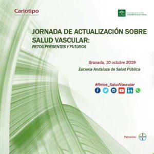 Jornada de Actualización sobre Salud Vascular. Granada 10 de octubre.