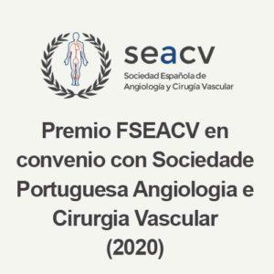 Premio FSEACV en convenio con SPACV (Sociedade Portuguesa Angiologia e Cirurgia Vascular)