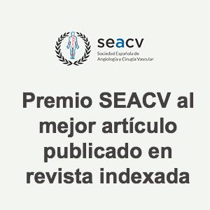 Premio SEACV al mejor artículo publicado en revista indexada