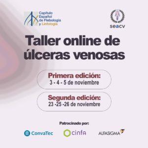Curso Online de Úlceras Venosas. Noviembre 2020.