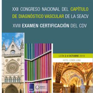 XXII Congreso Nacional del CDV y XVIII Examen de Certificación. Del 2 al 4 de octubre en León.