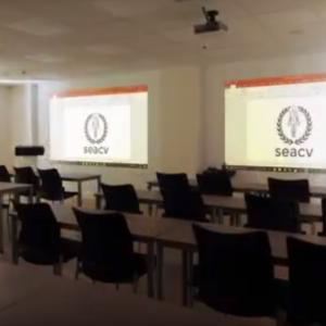 Nueva sede de la Fundación de la SEACV en la calle Alcántara de Madrid